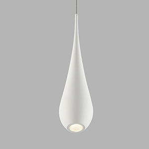 Polaris White LED Mini Pendant