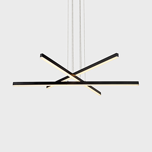 Sirius Black Three-Light LED Pendant