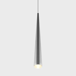 Polaris Silver LED Mini Pendant