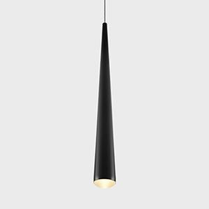 Polaris Black LED Mini Pendant