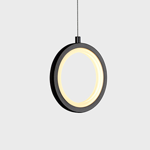 Tania Black LED Mini Pendant