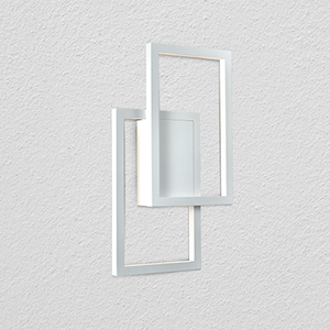 Radium White Two-Light LED Wall Sconce
