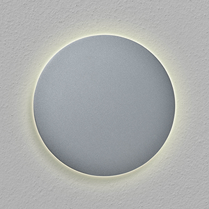 Eclipse Silver Seven-Inch LED ADA Wall Sconce