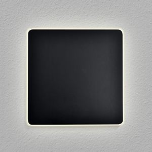 Eclipse Black Seven-Inch LED ADA Wall Sconce