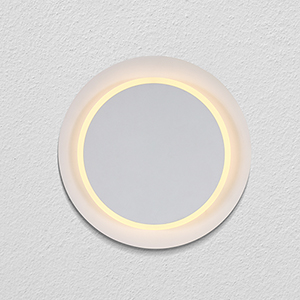 Eclipse White Rotational LED ADA Wall Sconce