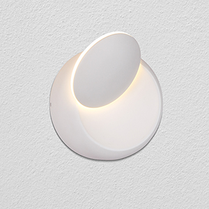 Eclipse White LED ADA Wall Sconce