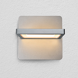Atria Silver LED Wall Sconce