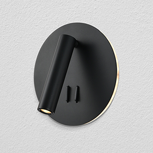 Tania Black Seven-Inch LED Wall Sconce