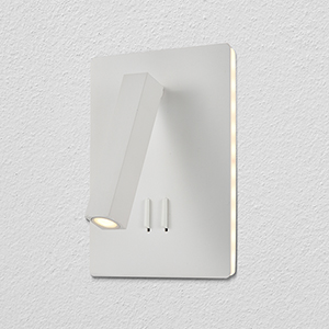 Atria White LED Wall Sconce