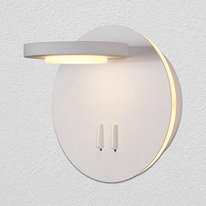 Tania White Rotational LED Wall Sconce
