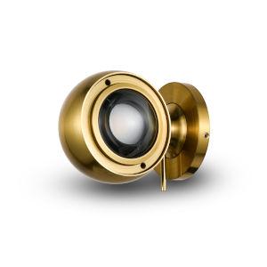 Orbit Antique Brass Adjustable LED Wall Sconce