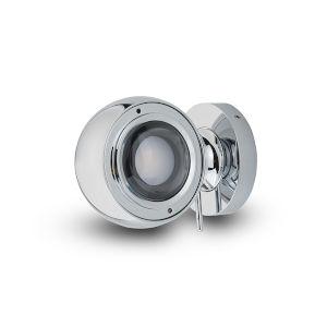 Orbit Polished Chrome Adjustable LED Wall Sconce
