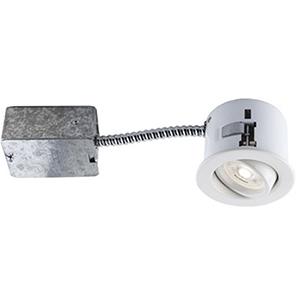 Flex 3 Matte White LED Recessed Lighting Kit