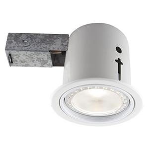 410 LED White Recessed Lighting Kit, Set of Four