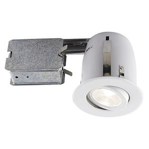 510 LED White Recessed Lighting Kit
