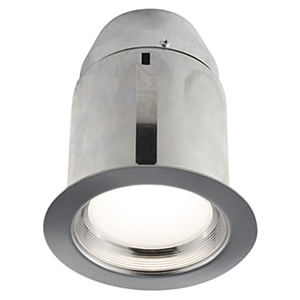 910I Brushed Chrome LED Recessed Lighting Kit
