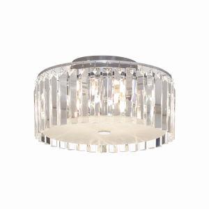 GLAM Glass Five Light LED Flush Mount