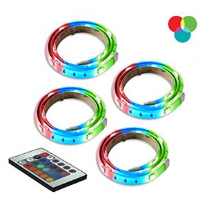 RGB LED Tape Light, Set of Four