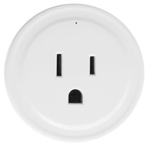 Matte White Smart Wi-Fi Plug