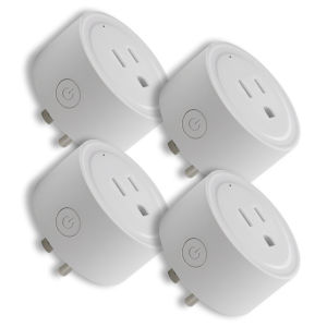 White Smart Wi-Fi Plug, Pack of 4