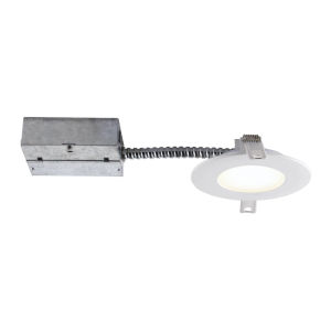 Matte White Wi-Fi LED Recessed Fixture Kit
