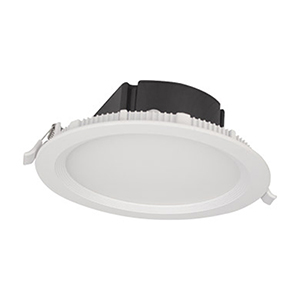 Slim Matte White LED Recessed Lighting Kit, Set of Four