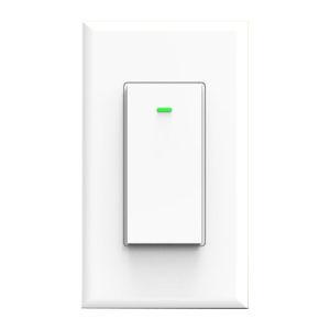 Matte White Wi-Fi Wall Switch