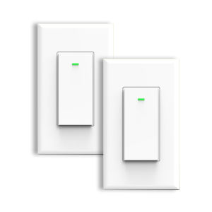 White Wi-Fi Wall Switch, Pack of 2