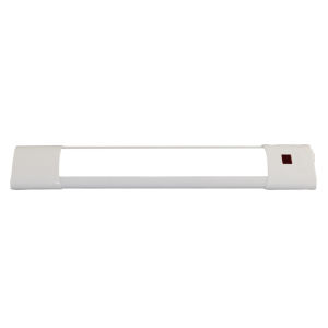 White 12-Inch Selectable Motion Sensor Integrated LED Under Cabinet Light