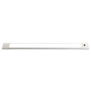 White 24 inch Selectable Motion Sensor Integrated LED Under Cabinet Light