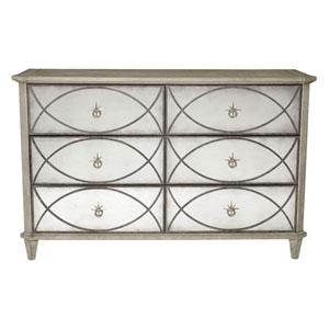 Marquesa Gray Cashmere 63-Inch Dresser