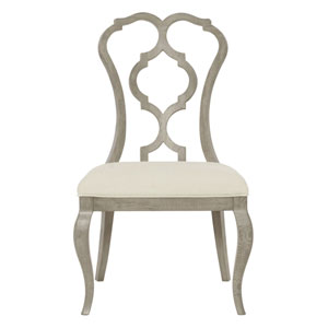 Marquesa Gray Cashmere 24-Inch Side Chair