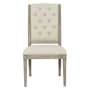 Marquesa Gray Cashmere Wood and Fabric 22-Inch Dining Chair