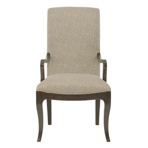 Miramont Dark Sable Wood and Fabric 23-Inch Dining Chair