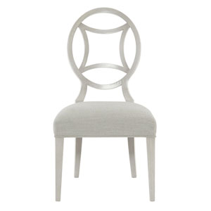 Criteria Heather Gray Wood and Fabric 21-Inch Dining Chair