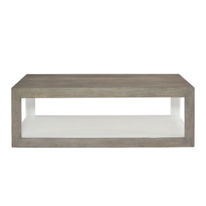Oldham Gray 54-Inch Cocktail Table