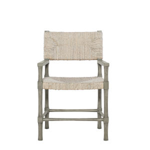 Palma Rustic Gray Dining Arm Chair
