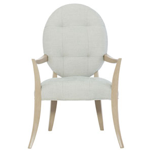 Savoy Place Chanterelle Wood and Fabric 27-Inch Dining Chair
