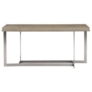 Mosaic Dark Taupe and Blackened Bronze 64-Inch Console Table