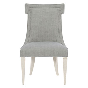 Domaine Blanc Dove White 24-Inch Side Chair