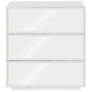 Argenta White Nightstand