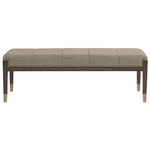 Clarendon Arabica Ash Solids and Fabric Bench