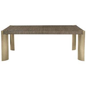 Profile Warm Taupe and Tapestry Gold 81-Inch Dining Table
