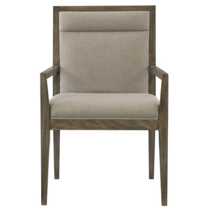 Profile Warm Taupe 24-Inch Arm Chair