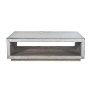 Sutherland Gray 60-Inch Cocktail Table