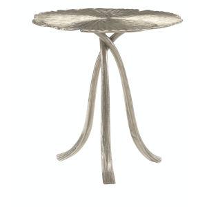Annabella Satin Nickel End Table