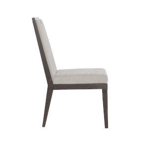 Decorage Solid Ash and Cerused Mink Upholstered 32-Inch Dining Chair