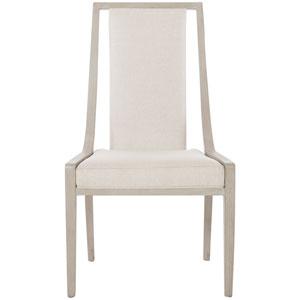 Axiom Linear Gray 23-Inch Side Chair