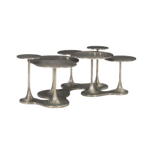 Circlet Charcoal Cocktail Table