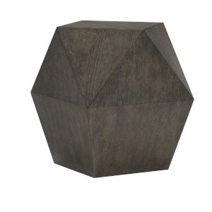 Linea Black End Table